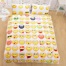 full bed sets for cheap. wholesale emoji bedding 3d duvet cover set cheap single twin full queen bed fashion style for comforters linen sets