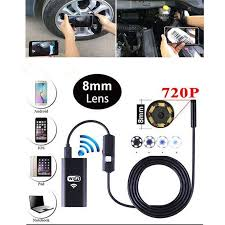 Usb 2.0 interface *image resolution. Wholesale 8 Leds Wifi Endoscope Waterproof Borescope Inspection Camera For Android Iphone From China