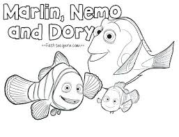 Finding Nemo Coloring Pages Bruce Free Colouring Sheets Pdf Dory At