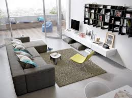 Urban Living Room Urban Living Room With Dull Wall Paint Wrapped With Wooden Tiles