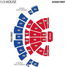 Houston Arena Seating Chart Seating Charts Houston Toyota Center