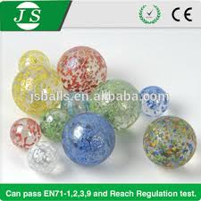Marble Balls Decoration Unique Wholesale Small Clear Colored Glass Marble Balls For Decoration Toy