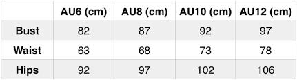 Amanda Uprichard Size Chart Norwood Jumpsuit