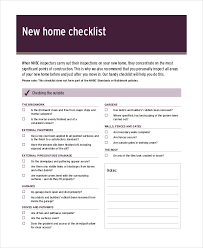 House Inspection Checklist 12 Free Pdf Word Download Documents