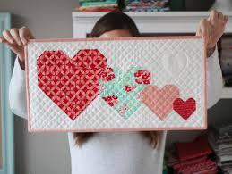 I Heart You, Free Mini Quilt Pattern- pattern in downloads ... & I Heart You, Free Mini Quilt Pattern- pattern in downloads Adamdwight.com
