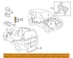 genuine chevrolet tracker fuse 12004009 pack of 5 chevrolet chevrolet gm oem 99 03 tracker 2 0l l4 wiring harness fuse 12004008