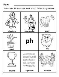 Practice reading tricky ph words with your second grader with this helpful worksheet. Digraphs Bundle Ch Sh Th Wh Ph Ee Oo Digraphs Worksheets Phonics Reading Passages Digraph