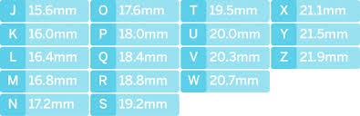 Tvsn Size Charts