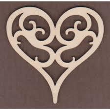 Scroll Heart