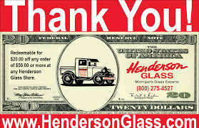 henderlass com thank you redeemable for 20 off any order of 50