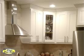 cabinet glass glass shelves the glass door kitchen cabinet