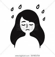 Depression Sadness Vector Photo Free Trial Bigstock