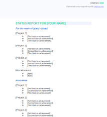 Employee Status 2 Best Employee Status Report Templates Free Download