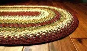 oval braided area rugs 8x10 red rug decor cotton sunrise home ideas furniture s manila