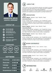 Gallery Of New Resume Formats