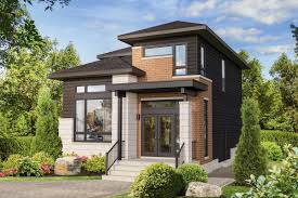 Small House Design Light Materials Plan 80899pm Narrow Lot Northwest House Plan Contemporary