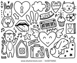 Small Picture Heart Doodle Stock Images Royalty Free Images Vectors