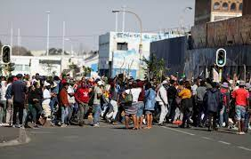 Dozens Arrested in South Africa Riots ...