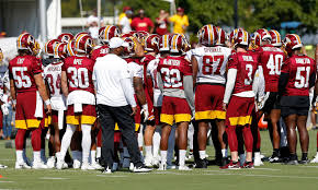 Redskins Qb Depth Chart 2018 Redskins Release Second Unofficial Depth Chart Ahead Of