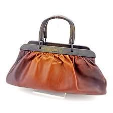 gucci used. gucci bags uk shop - auth handbag wood handle ladies used j20511 a