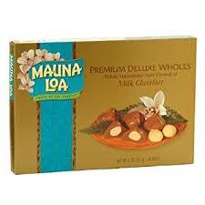 mauna loa chocolate macadamia nuts gift box 8 oz pack of 6