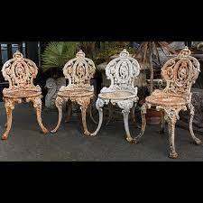 antique garden furniture ornaments