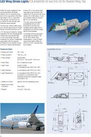 Aircraft Exterior Lighting System Led Anti Collision Lighting System For Airbus A320 Family