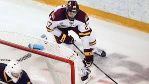 Minnesota Duluth Sophomore Muscling Way Onto Scoresheet, And ...