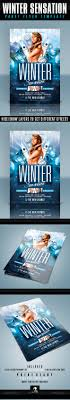 winter party flyer template by creativb graphicriver winter party flyer template clubs parties events