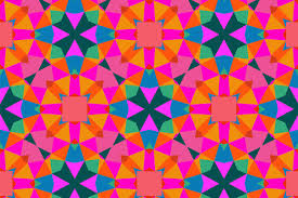 Colorful Patterns Amazing Geometric Pattern In Bright Color Graphic Patterns Creative Market