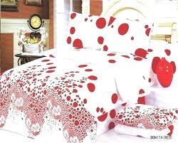 black grey single duvet cover red and white bedding bed frame bedrooms awesome polka dot