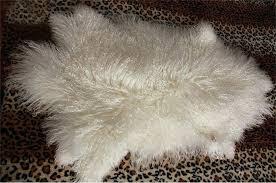 details about real fur rug throw lambskin hide pelt curly hair carpet mongolian lamb lamb throw rug mongolian