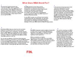 Be Stands For Best Articl In What Does Mba Stand For Power Of Mba