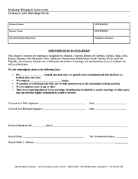 notarized letter notarized letter common law marriage fill online printable