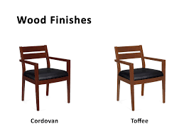 office wood. Office Visitor Chairs From OTG - The Cherry Wood Frame Comes In Two Warm Tones A