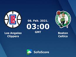 Los Angeles Clippers Boston Celtics live score, video stream and H2H  results - SofaScore