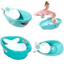 whale bathtub whale bath tub baby kids toddler newborn shower safety seat bathtub white in baby