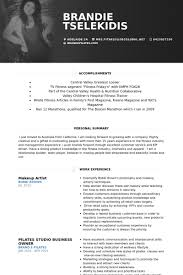 Makeup Artist Resume Best Makeup Artist Resume Template Makeup Artist Resume Samples Visualcv