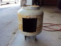er wood burning stove option for a sauna used 20gal propane tank