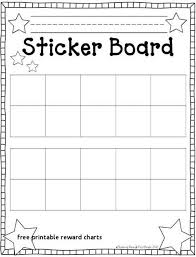 Examples Of Behavior Charts For Home