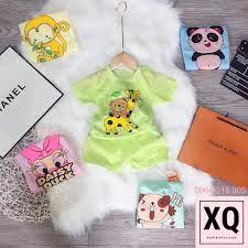 Combo 5 bộ cotton giấy ba lỗ cho bé trai, bé gái - Thời trang bé yêu XQ giá  cạnh tranh