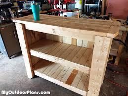 diy patio bar myoutdoorplans free