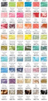 New Color Swatch Chart For Tim Holtz Distress Inks