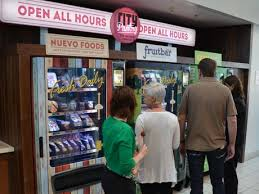 Fruit Bar Vending Machine Custom Australia's Alternative To Unhealthy Snacking