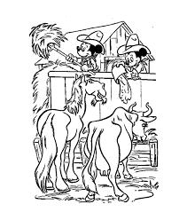 Kleurplaten Indianen En Cowboys