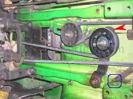 installation repair and replacement of john deere stx38 and stx46 john deere stx38 hydro drive belt black deck parking brake eyebolt