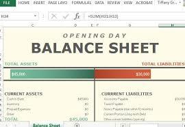 Daily Balance Sheet Under Fontanacountryinn Com