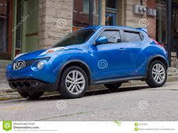 2015 Nissan Juke Sedan Blue Stock Image - Image of 2015, sedan ...
