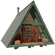 9 A Frame Tiny House Plans A Frame House Plans Cozy Design
