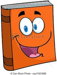 text book cartoon mascot character csp11531695